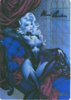 """Lady Death """"Naughty Thoughts   Metallicard  Ltd. Ed. 199 with Art by Sabine Rich"""