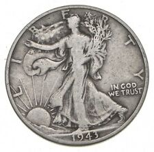 1943-D Walking Liberty 90% Silver US Half Dollar *098