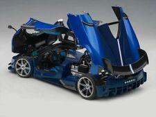 AUTOART PAGANI HUAYRA BC BLUE FRANCIA/CARBON 1:18*Brand New Item*Very Nice!