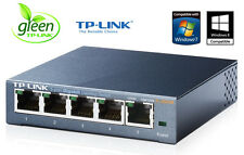 Netzwerk Switch 5 Port TL-SG105E EASY SMART TP-Link 10/100/1000Mbit LAN GIGABIT