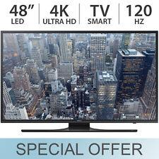 "Samsung 48"" inch 4K UHD Smart LED LCD TV 120Hz with 3 HDMI - UN48JU640D"