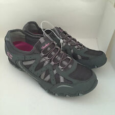 NEW ARRIVAL! SKECHERS DREAM COME TRUE CHARCOAL WALKING RUNNING SHOES SNEAKERS 7