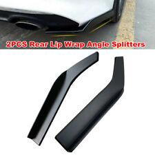2PCS 62cm Car Bumper Spoiler Rear Lip Angle Splitter Diffuser for Audi BMW Lexus