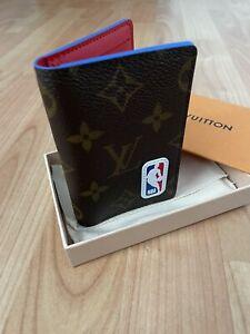 Louis Vuitton LVxNBA Pocket Organiser M80104 Limited Edition New