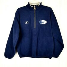 Vintage Starter NFL ProLine Dallas Cowboys Fleece Pullover Jacket Size Medium