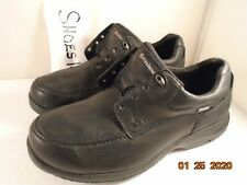 Dunham 941 Gore-Tex men Leather shoes black size 9EE AS IS