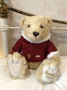 HARRODS Christmas Teddy Bear 2009 MAXWELL