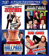 MODERN COMODIES     4 FILM FAVORITES      BLURAY       BRAND NEW