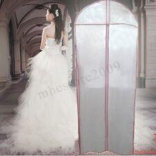 150CM Wedding Dress Storage Bag Bridal Gown Garment Cover Carrier Zip