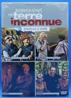 coffret 4 dvd rendez-vous en terre inconnue : robin, timsit, montagné, karembeu