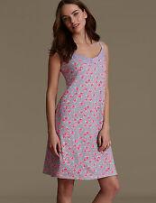 NEW M&S Emma Bridgewater Modal Blend Ditsy Floral Chemise Nightdress UK 8 EUR 36