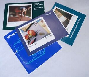 POLAROID System Camera Magazine Photography Book Brochure Guide