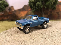1981 Chevy K10 4x4 Lifted Custom 1/64 Diecast Truck Off Road 4WD Mud Shortbed