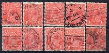AUSTRALIA = GV 1-1/2d `Head`. 1926/30. Used. Unchecked for Shades, etc. (g)