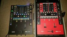 2 Rane 62 Mixer 1 Black 1 Red Black with Red Skinz price is for each!