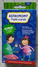 Astronomy Flash Cards with Bonus! 45 Stickers Included *New*