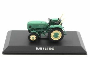 Hachette Traktor MAN 4 L1 1960 1:43