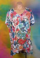 Millers, Size 22 Plus, Womans Beaded Floral Blouse