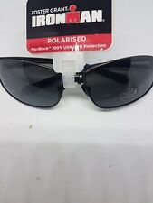 "FOSTER GRANT IRON MAN SUNGLASSES ""EXERT"" POLARIZED RRP £30"
