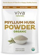 Viva Naturals Organic Psyllium Husk Powder - Fiber Support
