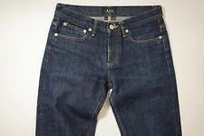 APC A.P.C. Petit Standard Selvedge Raw Jeans Fades Denim Fade sz 27 x 32