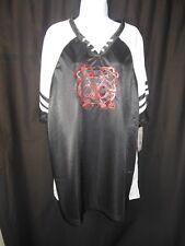 Chicago Blackhawks Women's Majestic Shimmer Jersey Shirt Plus Sizes