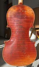 Alte Violine Geige Old Violin Mit Stempel E.H