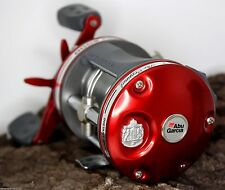ABU GARCIA Ambassadeur Classic Red 6000 BAITCASTER TROLLING REEL New
