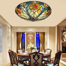 New ListingVintage Ceiling Lamp Hand-Made Colorful Glass Chandelier Flush Mount Lighting
