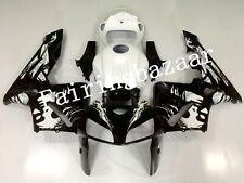 Fit for CBR600RR 2005 2006 Leyla Black White ABS Injection Bodywork Fairing Kit