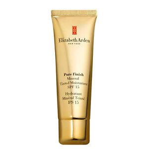 Tinted Moisturiser Cream 50ml Elizabeth Arden Pure Finish Mineral Moisture SPF15
