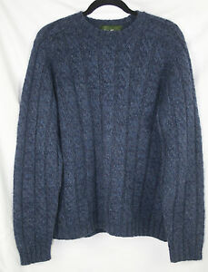Mens Eddie Bauer Heritage Authentic Outdoor Outfitter Wool Sweater Size M - EUC!