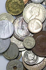 200 Foreign Coins + Bonus -  Free Silver Foreign Coin, Nice Mix of Countries