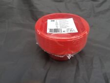 30 x  plastic disposible red bowl 12cm  for all occasions