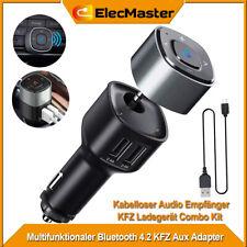 KFZ Bluetooth Empfänger Wireless Receiver USB Auto Ladegerät Adapter Audio Aux