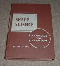 1955 SHEEP SCIENCE College Textbook JB Lippincott William Kammlade Agriculture