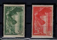PP128120 / FRANCE / Y&T # 354 / 355 SAMOTHRACE MH * CV 190 $
