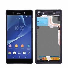 For Sony Xperia Z2 L50W D6502 D6503 LCD Touch Screen Digitizer Display + Frame