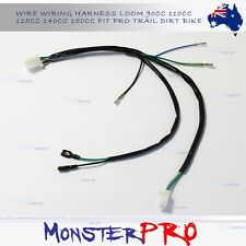 Wiring Loom Harness Kick Start Engine 50/110/125cc Dirt Pit Trail Mini Bike DHZ