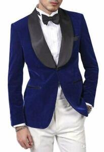 Men Atractive Coat Tuxedo Formal Slim Fit Style Dinner Groom Bride Jacket Blazer
