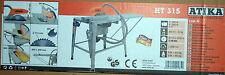 ATIKA HT 315 Tischkreissäge HT315 3,3 kW 400V Kreissäge Säge  NEU/OVP