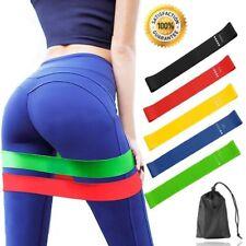 Fitnessbänder Set 5-Stärken Loop Bänder Gymnastikband Widerstandsbänder Training