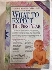 What to Expect the First Year, by Eisenberg, used copy, Ships FREE!