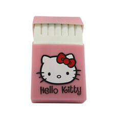 1 pcs Silicone Cigarette Case  Hello Kitty Cigarette Box Cover pink Hello Kitty