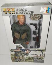 "Dragon 1/6 WII USMC Bar Gunner Pvt Kenneth Iwo Jima 12"" Marine Action Figure"