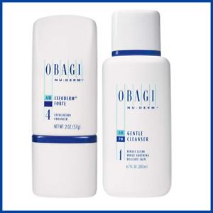 Obagi Medical Gentle Cleanser 6.7 oz + Exfoderm Forte 2 oz Bundle