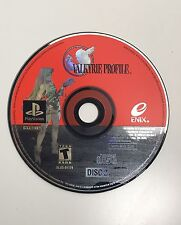 Valkyrie Profile (Sony PlayStation 1, 2000) DISC 2 - Very Rare PS1 PSX Game