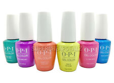 OPI GelColor Soak-Off Gel Polish Base-Top NEON COLLECTION 15ml / 0.5oz AUTHENTIC
