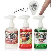 Set Of 3 8.5oz Musical Christmas Soap Dispenser Bottles Christmas Decorations