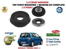 für Renault Twingo 2007- > 1x Vorne oben Strebe Schocker Montage + LAGER 3-tlg.